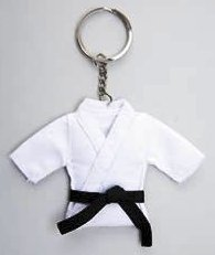 Karate Jacket Key Ring