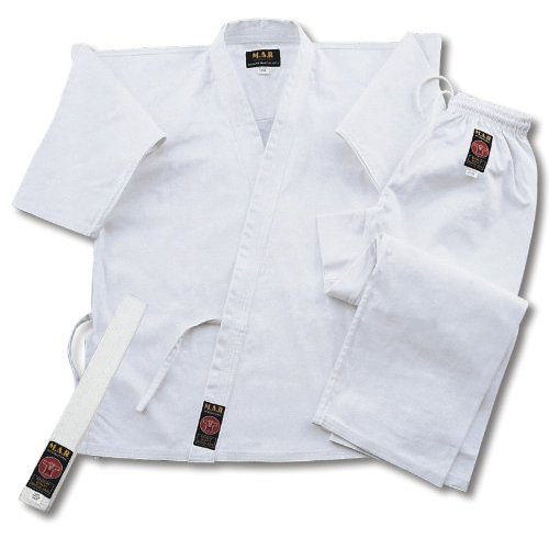 Karate Uniform White (100% Cotton)